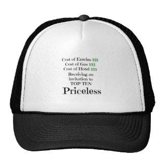 Top Ten Priceless Trucker Hat