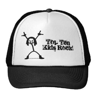 Top Ten Rocker Trucker Cap Mesh Hats