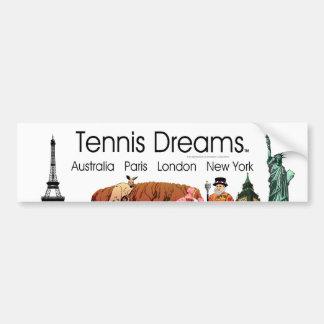 TOP Tennis Dreams Bumper Sticker