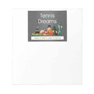 TOP Tennis Dreams Notepad