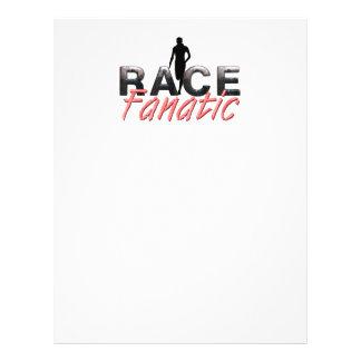 TOP Track Race Fanatic Flyer Design
