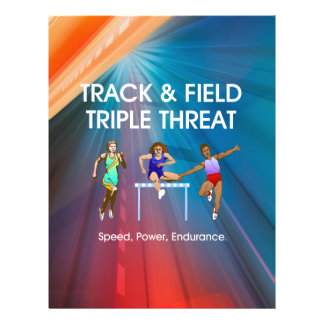 TOP Track Triple Flyer Design