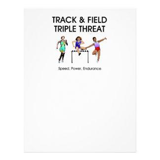 TOP Track Triple Custom Flyer