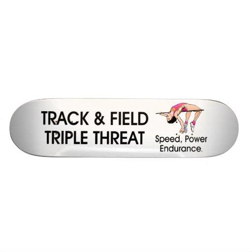 TOP Track Triple Skate Deck