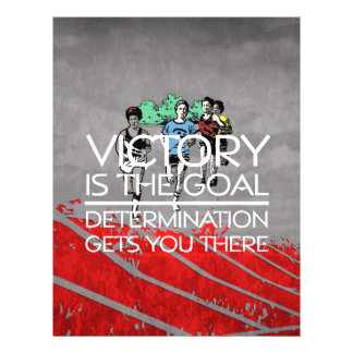 TOP Track Victory Slogan 21.5 Cm X 28 Cm Flyer