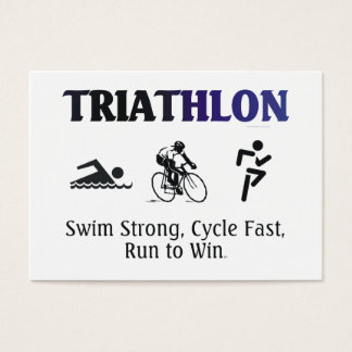 TOP Triathlon Business Card