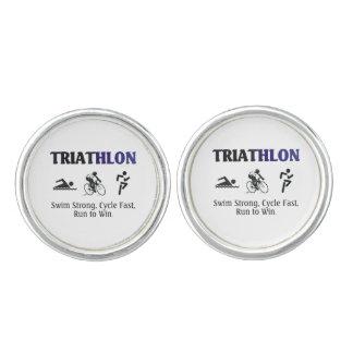 TOP Triathlon Cufflinks