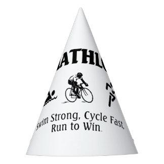 TOP Triathlon Party Hat