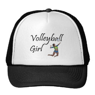 TOP Volleyball Girl Mesh Hat