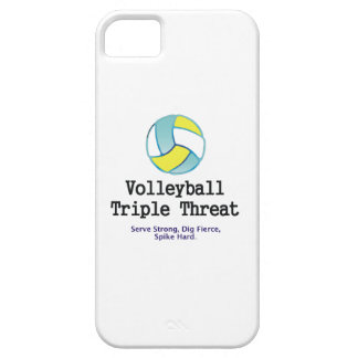 TOP Volleyball Triple Threat iPhone 5 Cover