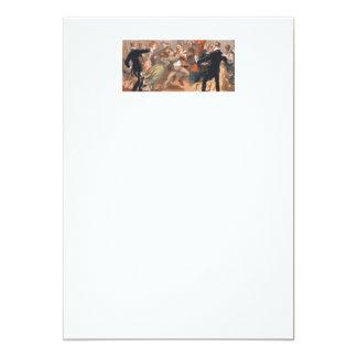 TOP Waltzing Old School 5x7 Paper Invitation Card