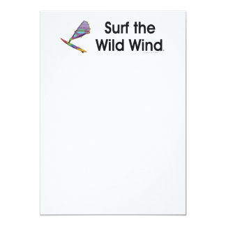 TOP Windsurfing 13 Cm X 18 Cm Invitation Card