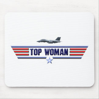 Top Woman Logo Mouse Pad