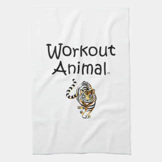 TOP Workout Animal Towel