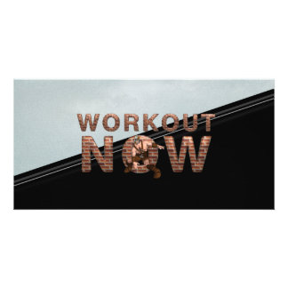 TOP Workout Now Photo Card Template