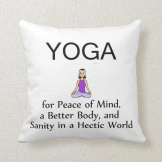 TOP Yoga Slogan Cushion
