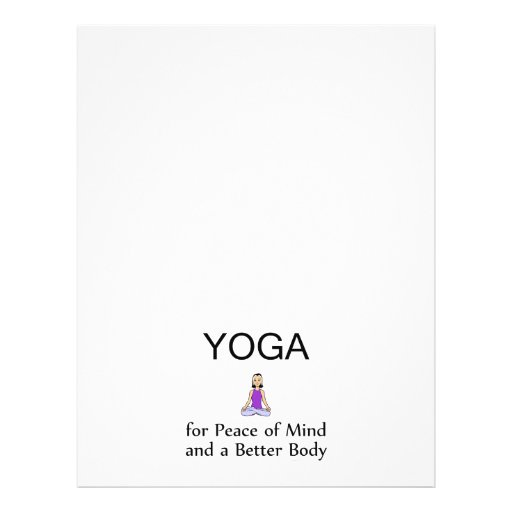 TOP Yoga Slogan Flyers