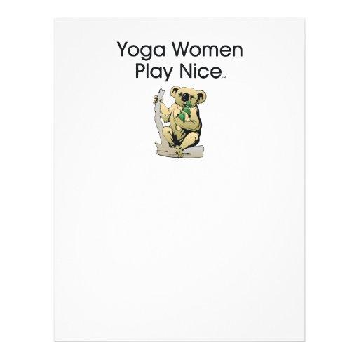 TOP Yoga Women Flyer