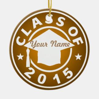 Topaz Class Of 2015 Graduation Ornaments
