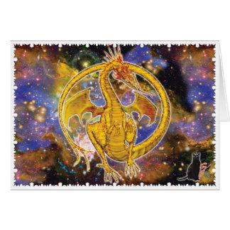 Topaz Cosmic Dragon Card