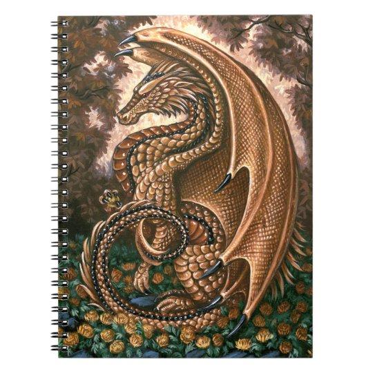 Topaz Dragon Notebook