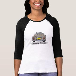 Topaz Mist Nissan Figaro Driver Customise T Shirt