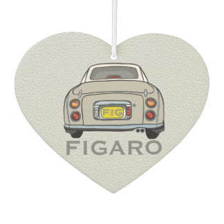 Topaz Mist Nissan Figaro New Car Smell Dangly Car Air Freshener