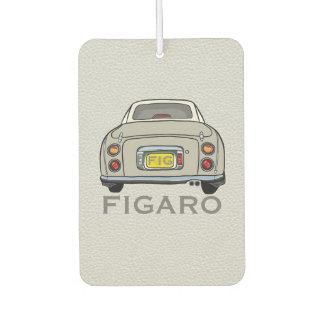 Topaz Mist Nissan Figaro New Car Smell Dangly Car Air Freshener