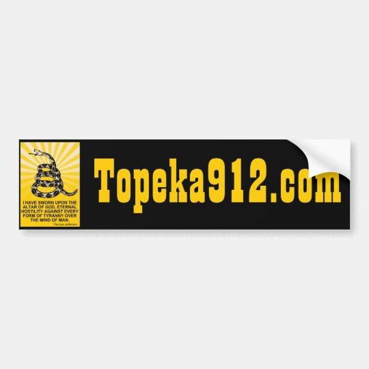 Topeka912.com Bumper Sticker