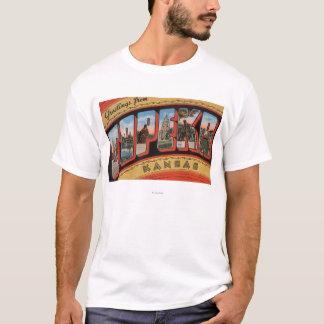 Topeka, KansasLarge Letter ScenesTopeka, KA T-Shirt
