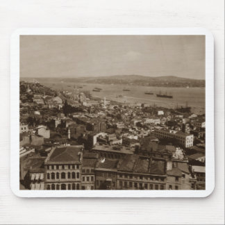 Tophane and Uskudar Constantinople Turkey 1880s Mouse Pad