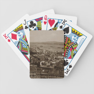 Tophane and Uskudar Constantinople Turkey 1880s Poker Deck