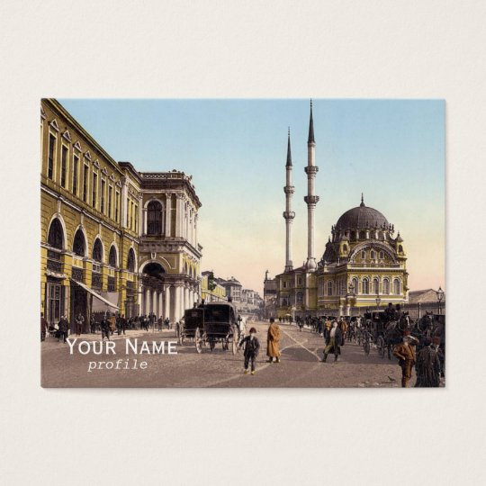 Tophane square ,Istanbul Business Card
