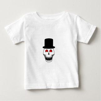 Tophat Skull Baby T-Shirt