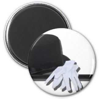 TopHatBlackCaneWhiteGloves073011 Magnets