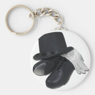 TopHatTapShoesGloves012511 Key Ring