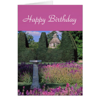 Topiary-and-dovecote card