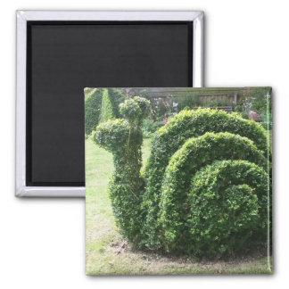 Topiary fun garden snail magnet
