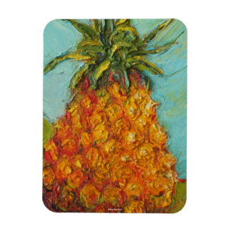 Topical Pineapple Magnet