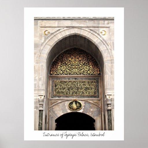 Topkapi Palace Poster