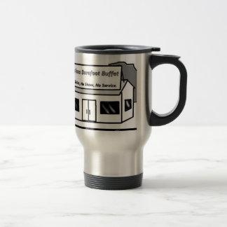 Topless Barfoot Buffet Stainless Steel Travel Mug