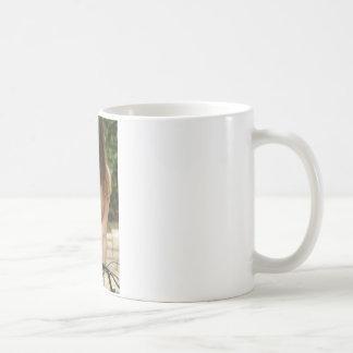 Topless Beauty Basic White Mug