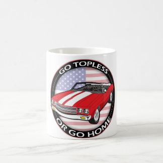 Topless or Go Home Morphing Mug