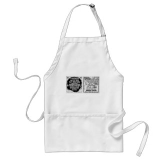 Topless Oysters Adult Apron