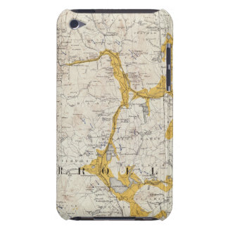 Topographic and Glacial Map of New Hampshire 2 Barely There iPod Cover