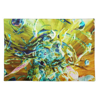Topographic Angel Placemat