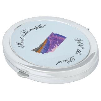 Topographic Beauty Makeup Mirror