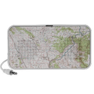 Topographic Map Laptop Speakers