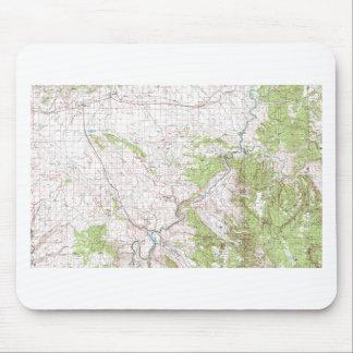 Topographic Map Mousepad