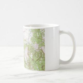 Topographic Map Coffee Mugs